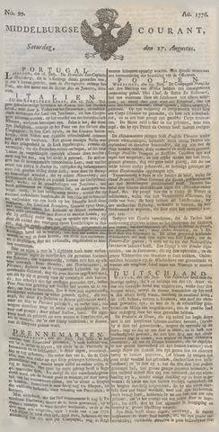 Middelburgsche Courant 1776-08-17