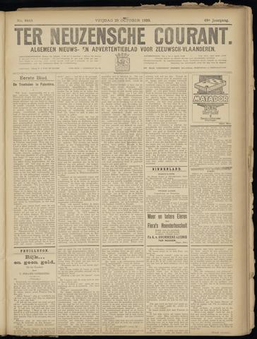 Ter Neuzensche Courant. Algemeen Nieuws- en Advertentieblad voor Zeeuwsch-Vlaanderen / Neuzensche Courant ... (idem) / (Algemeen) nieuws en advertentieblad voor Zeeuwsch-Vlaanderen 1929-10-25