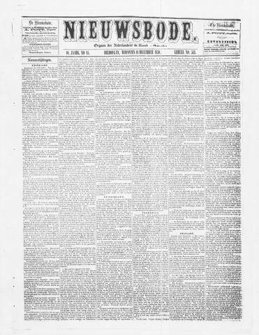 Sheboygan Nieuwsbode 1859-12-14