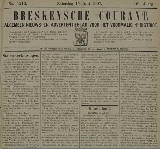 Breskensche Courant 1907-06-15