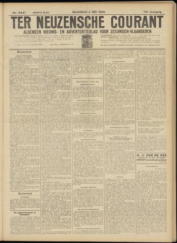 Ter Neuzensche Courant. Algemeen Nieuws- en Advertentieblad voor Zeeuwsch-Vlaanderen / Neuzensche Courant ... (idem) / (Algemeen) nieuws en advertentieblad voor Zeeuwsch-Vlaanderen 1936-05-04