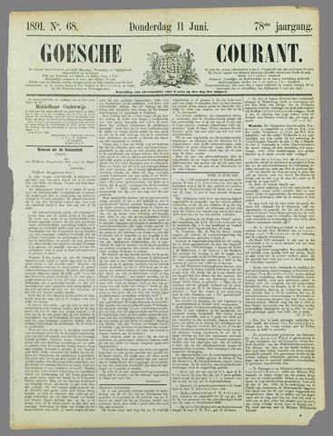 Goessche Courant 1891-06-11