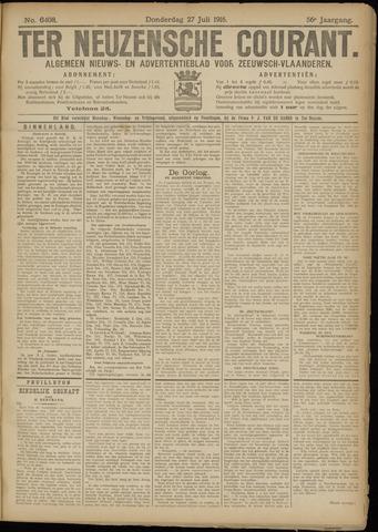Ter Neuzensche Courant. Algemeen Nieuws- en Advertentieblad voor Zeeuwsch-Vlaanderen / Neuzensche Courant ... (idem) / (Algemeen) nieuws en advertentieblad voor Zeeuwsch-Vlaanderen 1916-07-27