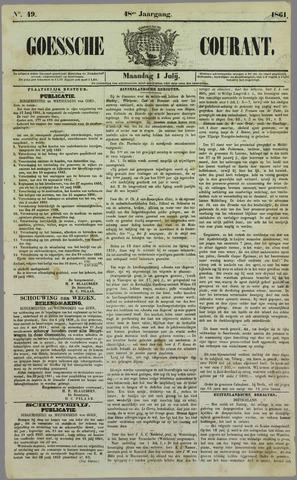 Goessche Courant 1861-07-01