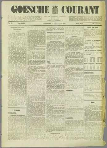 Goessche Courant 1932-08-01