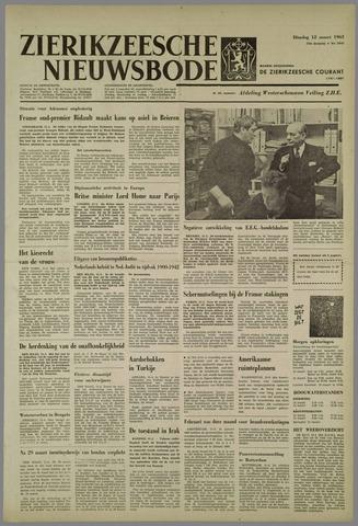 Zierikzeesche Nieuwsbode 1963-03-12
