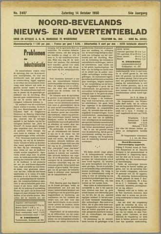 Noord-Bevelands Nieuws- en advertentieblad 1950-10-14