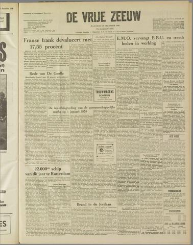 de Vrije Zeeuw 1958-12-29