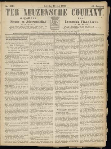 Ter Neuzensche Courant. Algemeen Nieuws- en Advertentieblad voor Zeeuwsch-Vlaanderen / Neuzensche Courant ... (idem) / (Algemeen) nieuws en advertentieblad voor Zeeuwsch-Vlaanderen 1900-05-12