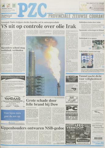 Provinciale Zeeuwse Courant 2003-05-10