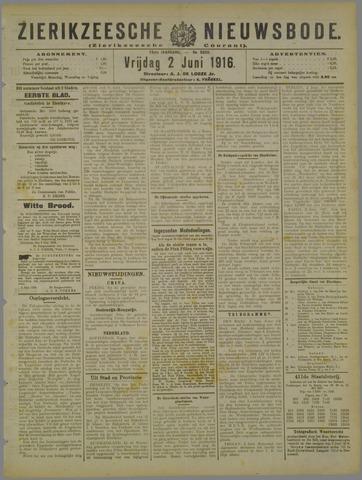Zierikzeesche Nieuwsbode 1916-06-02