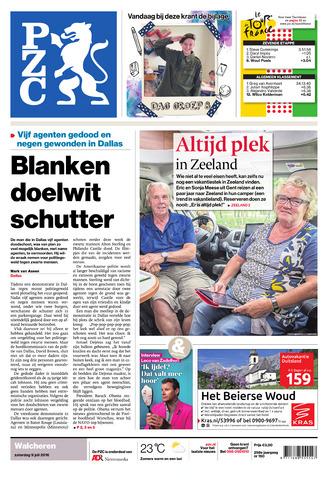 Provinciale Zeeuwse Courant 2016-07-09