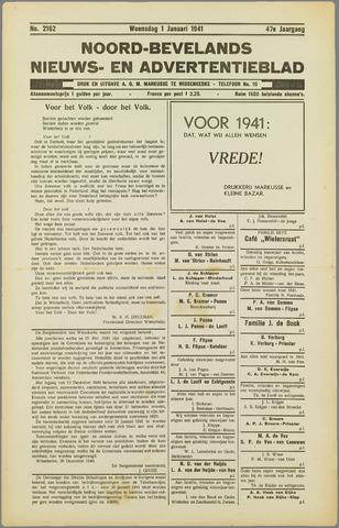 Noord-Bevelands Nieuws- en advertentieblad 1941