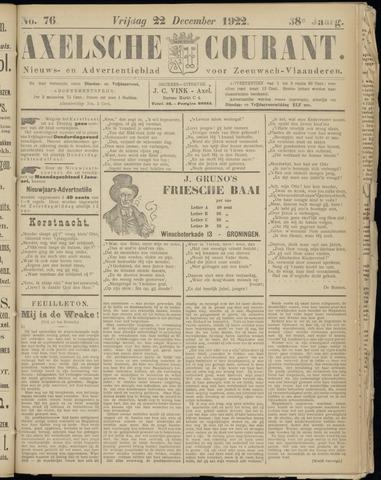 Axelsche Courant 1922-12-22