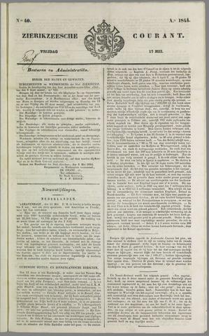 Zierikzeesche Courant 1844-05-17