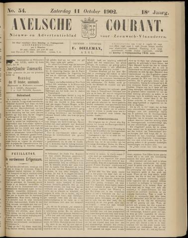 Axelsche Courant 1902-10-11