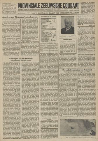 Provinciale Zeeuwse Courant 1942-03-31