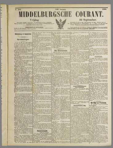 Middelburgsche Courant 1905-09-22