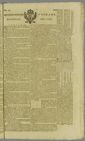 Middelburgsche Courant 1806-05-01