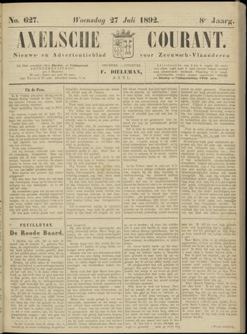 Axelsche Courant 1892-07-27