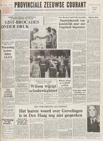 Provinciale Zeeuwse Courant 1972-04-12