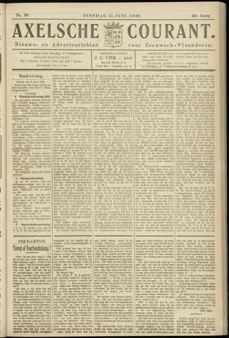 Axelsche Courant 1926-06-15