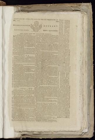 Middelburgsche Courant 1800-09-11