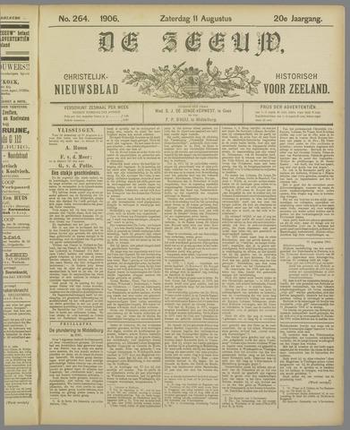 De Zeeuw. Christelijk-historisch nieuwsblad voor Zeeland 1906-08-11