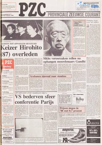 Provinciale Zeeuwse Courant 1989-01-07