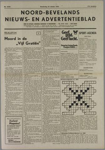 Noord-Bevelands Nieuws- en advertentieblad 1983-10-20