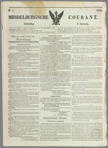 Middelburgsche Courant 1858