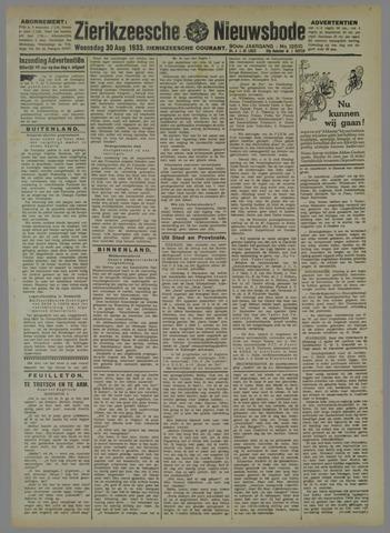 Zierikzeesche Nieuwsbode 1933-07-30