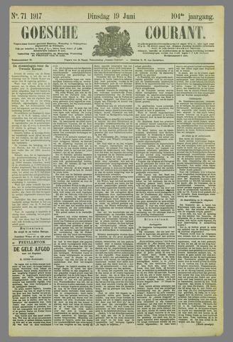 Goessche Courant 1917-06-19