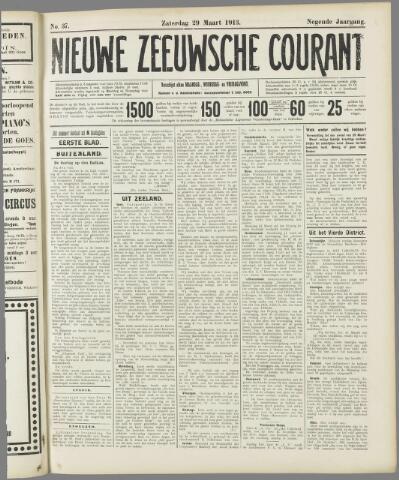 Nieuwe Zeeuwsche Courant 1913-03-29