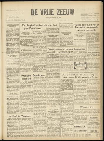de Vrije Zeeuw 1957-01-22