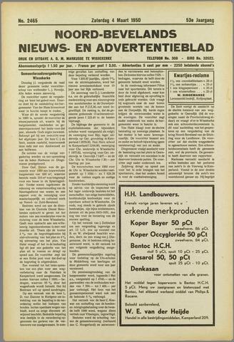 Noord-Bevelands Nieuws- en advertentieblad 1950-03-04