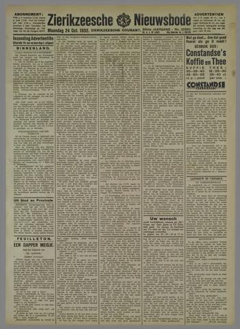 Zierikzeesche Nieuwsbode 1932-10-24