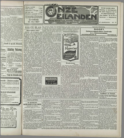 Onze Eilanden 1927-07-16
