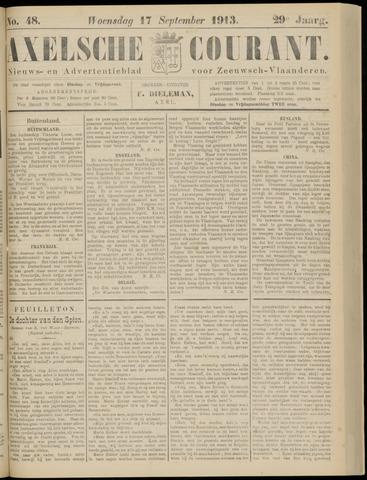 Axelsche Courant 1913-09-17