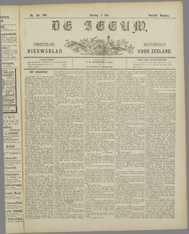 De Zeeuw. Christelijk-historisch nieuwsblad voor Zeeland 1898-07-02
