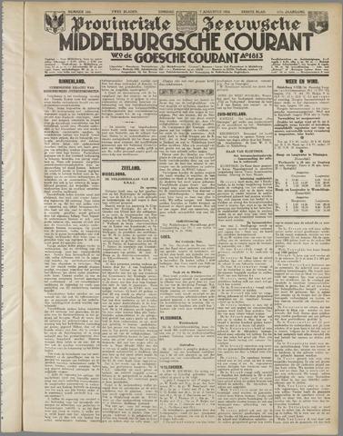 Middelburgsche Courant 1934-08-07