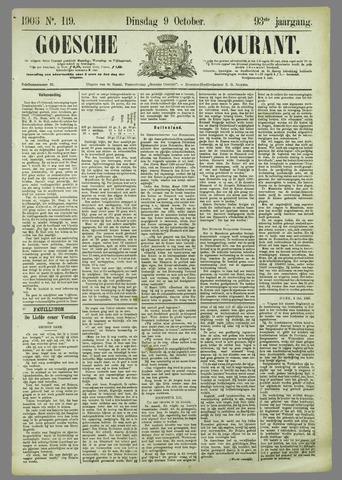 Goessche Courant 1906-10-09
