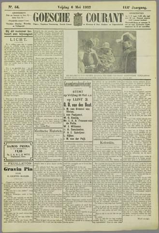 Goessche Courant 1927-05-06