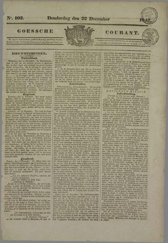 Goessche Courant 1842-12-22