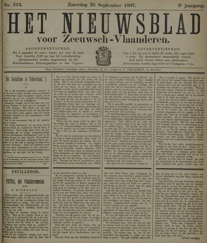 Nieuwsblad voor Zeeuwsch-Vlaanderen 1897-09-25