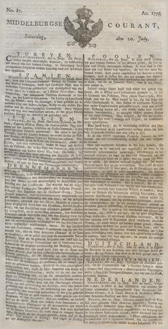 Middelburgsche Courant 1776-07-20