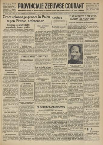 Provinciale Zeeuwse Courant 1950-02-07