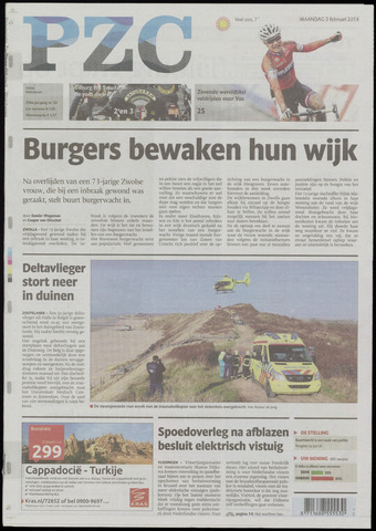 Provinciale Zeeuwse Courant 2014-02-03