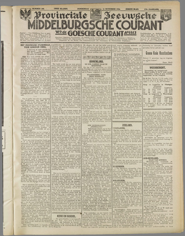 Middelburgsche Courant 1936-11-26