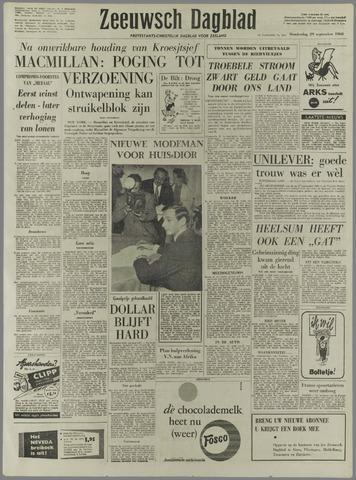 Zeeuwsch Dagblad 1960-09-29